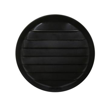 """6"""" Round Aluminum Vent - Black"""