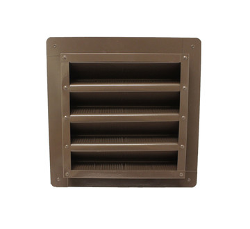 8x8 Gable Vent - Brown