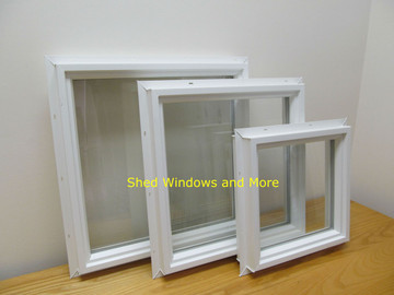 "16"" x 16"" Square Double Pane Vinyl Window"