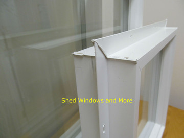 "18"" x 18"" Square Double Pane Vinyl Window"