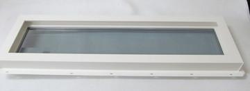 "10"" x 36"" Transom Double Pane Tempered Low-E Glass Vinyl Windows"