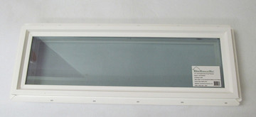 10x30 Transom Double Pane Tempered Low-E Vinyl Windows