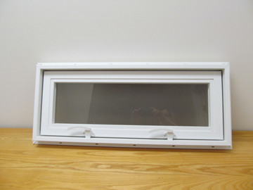 "30"" x 12"" Awning Transom Insulated Glass Vinyl Window"