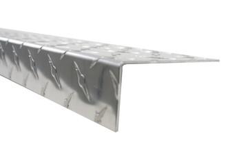 "48"" X 4"" Diamond Plate Threshold"