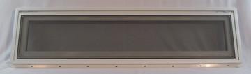"48"" x 12"" Awning Transom Insulated Glass Vinyl Window"