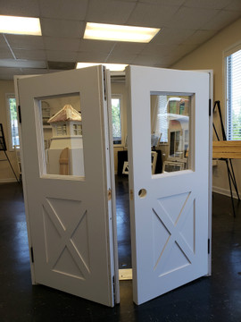 Shed Windows and More - Custom Playhouse Doors