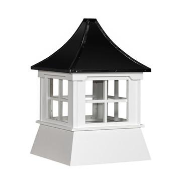 "16"" Vinyl Window Cupola with Pagoda Roof"