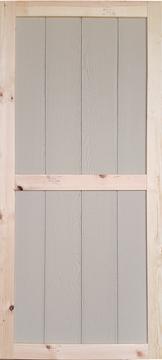 """30"""" x 78"""" Wood Shed Door"""