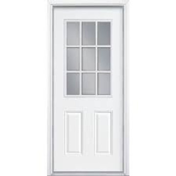 Photo showing 9 Lite installed (door not included)