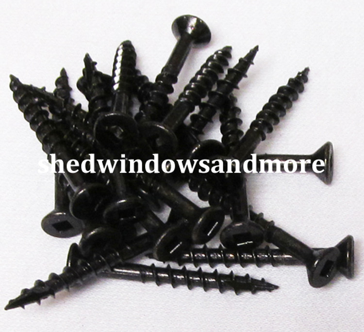 "#8x1-1/2"" Screws Black"