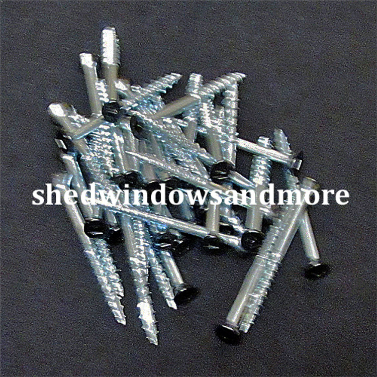 "#8x2"" Screws with Black Head"
