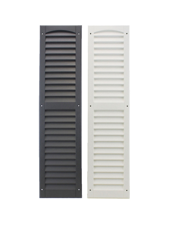 "9"" x 36"" Shutters Colors - Black or White"