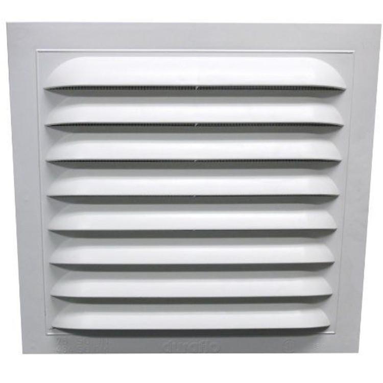 12x12 white flush pvc vent