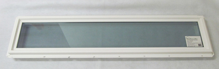 "10"" x 48"" Transom Double Pane Vinyl Windows"