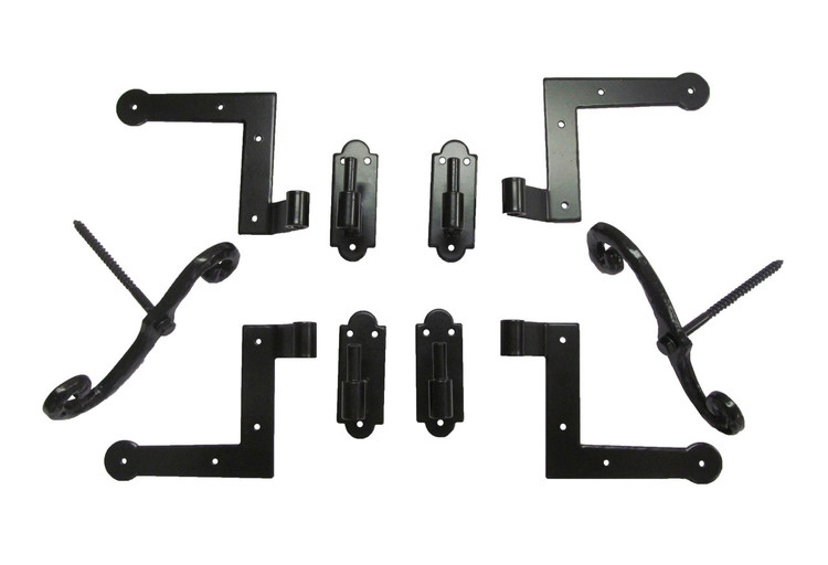 Shutter Hinge Kit Brick Mount