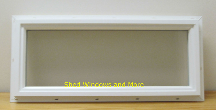 10x24 Transom Double Pane Vinyl Window