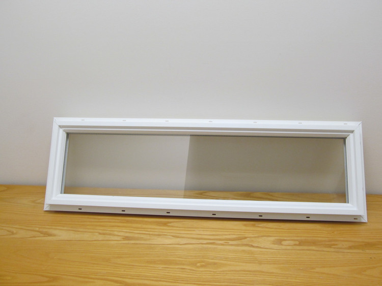 10x36 Transom Double Pane Vinyl Window