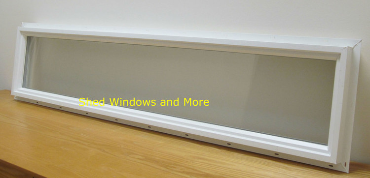 10x48 Transom Double Pane Vinyl Window