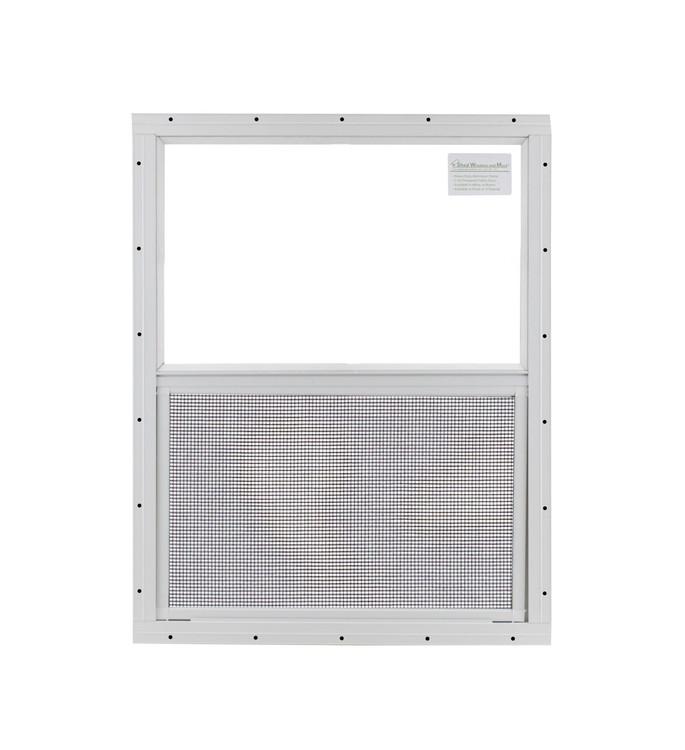 """24"""" x 27"""" Safety Glass Window Without Girds"""