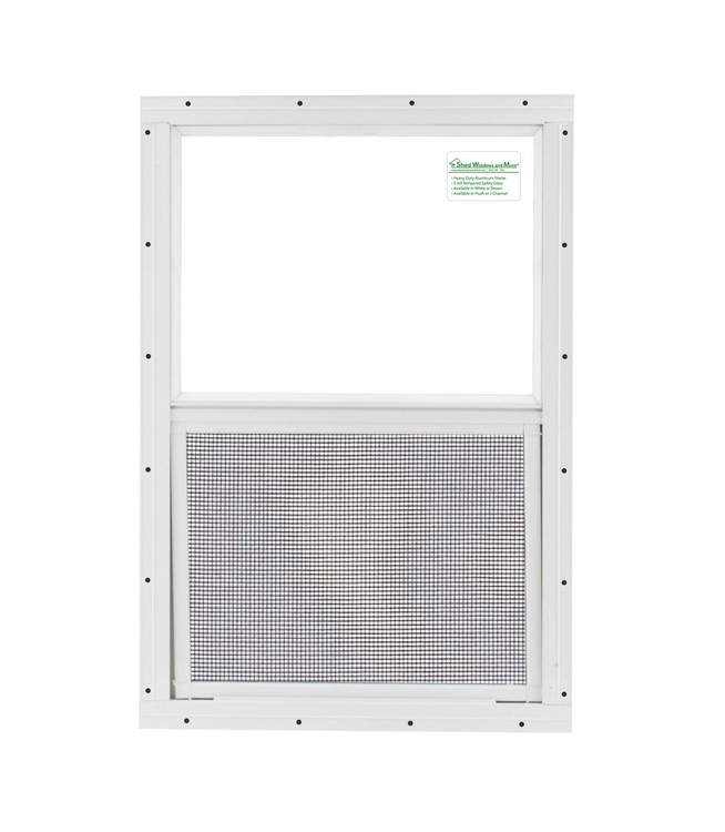 """24"""" x 36"""" Safety Glass Window Without Girds"""