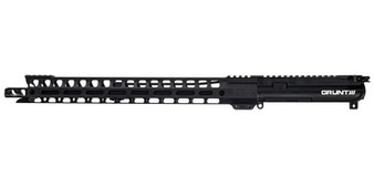 """Upper Receiver - Complete Rifle Grunt-15 with 17"""" Handguard (Black)"""
