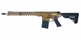 "Grunt - AR-10 Rifle w/ 17"" Handguard & 18"" Barrel (Coyote)"