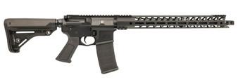 """GRUNT - AR-15 Rifle (.223 Wylde) w/ 17"""" Handguard (Black)"""