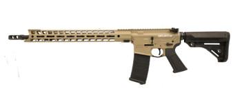 """Grunt - AR-15 Rifle (.223 Wylde) w/ 17"""" Handguard (FDE)"""