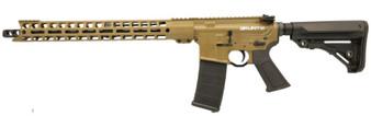 """Grunt - AR-15 Rifle (.223 Wylde) w/ 17"""" Handguard (Coyote)"""
