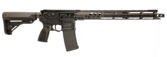 "Barrage - AR-15 Rifle Skeletonized (.223 Wylde) w/ 17"" Ravage Handguard (Black)"