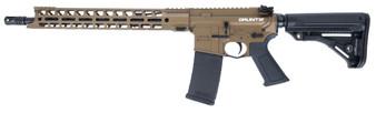 "Grunt - .300 Blackout Pistol w/ 15"" Handguard (Burnt Bronze)"