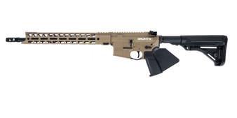 "Grunt - AR-15 Rifle (5.56 Nato) w/ 15"" Handguard (FDE) California Compliant"