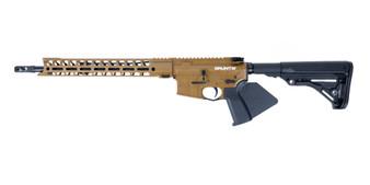 """Grunt - AR-15 Rifle (.223 Wylde) w/ 15"""" Handguard (Coyote) California Compliant"""