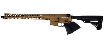 "Grunt - AR-15 Rifle (5.56 Nato) w/ 17"" Handguard (Burnt Bronze) California Compliant"
