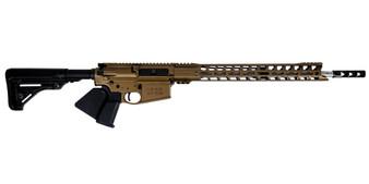 "Grunt - AR-10 Rifle w/ 17"" Handguard & 18"" Barrel (Burnt Bronze)  California Compliant"