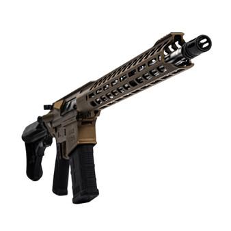 "Grunt - AR-10 Rifle w/ 17"" Handguard & 18"" Barrel (Burnt Bronze)"