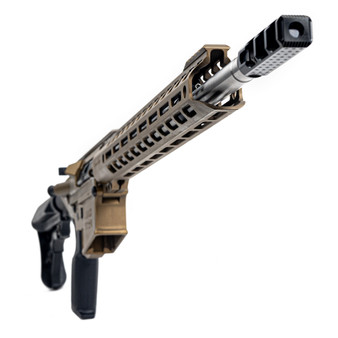 "Grunt - AR-10 Rifle w/ 17"" Handguard & 20"" Barrel (Burnt Bronze) California Compliant"