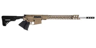 "Grunt - AR-10 Rifle w/ 17"" Handguard & 20"" Barrel (FDE) California Compliant"