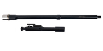 """Lead Star matched 16"""" .223 mid-length 1/8 nitride barrel & BCG combo"""