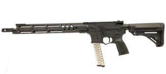 "BARRAGE - 9MM Rifle w/ 17"" Handguard (Black) NON SKEL"