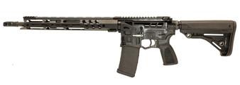"Barrage - AR-15 Rifle Skeletonized (5.56 Nato) w/ 15"" Handguard (Black)"