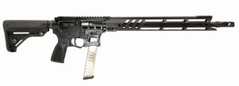 "Barrage - 9MM Rifle Skeletonized w/ 15"" Handguard (Black)"