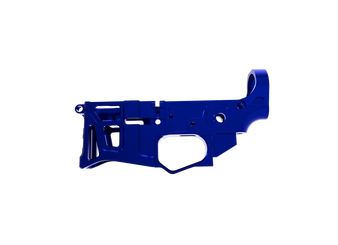 Lower Receiver - Skeletonized LSA-15 AR-15 (Blue)