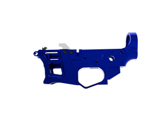 Lower Receiver - Skeletonized PCC /AR-9 LSA-9 (Blue)