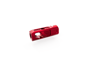 "Muzzle Brake (Red) - Ravage (9MM/PCC) 1/2""x28"