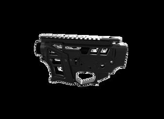 Receiver Set - Skeletonized PCC/AR-9 LSA-9  (Black)