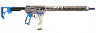 Prime - 9mm Rifle - Gunmetal w/ Blue Accents