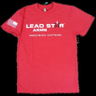 T-shirt -Lead Star Logo (Red)