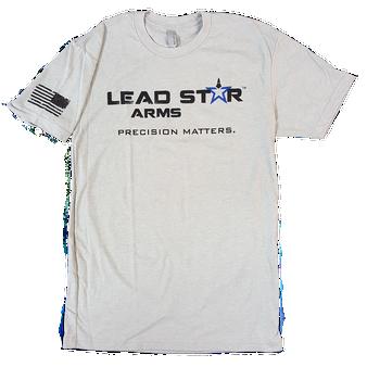 T-shirt -Lead Star Logo (Grey)