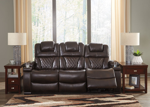 Marvelous The Buncrana Chocolate Power Reclining Sofa With Adj Gmtry Best Dining Table And Chair Ideas Images Gmtryco